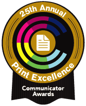 25th Annual Print Excellence Communicator Award
